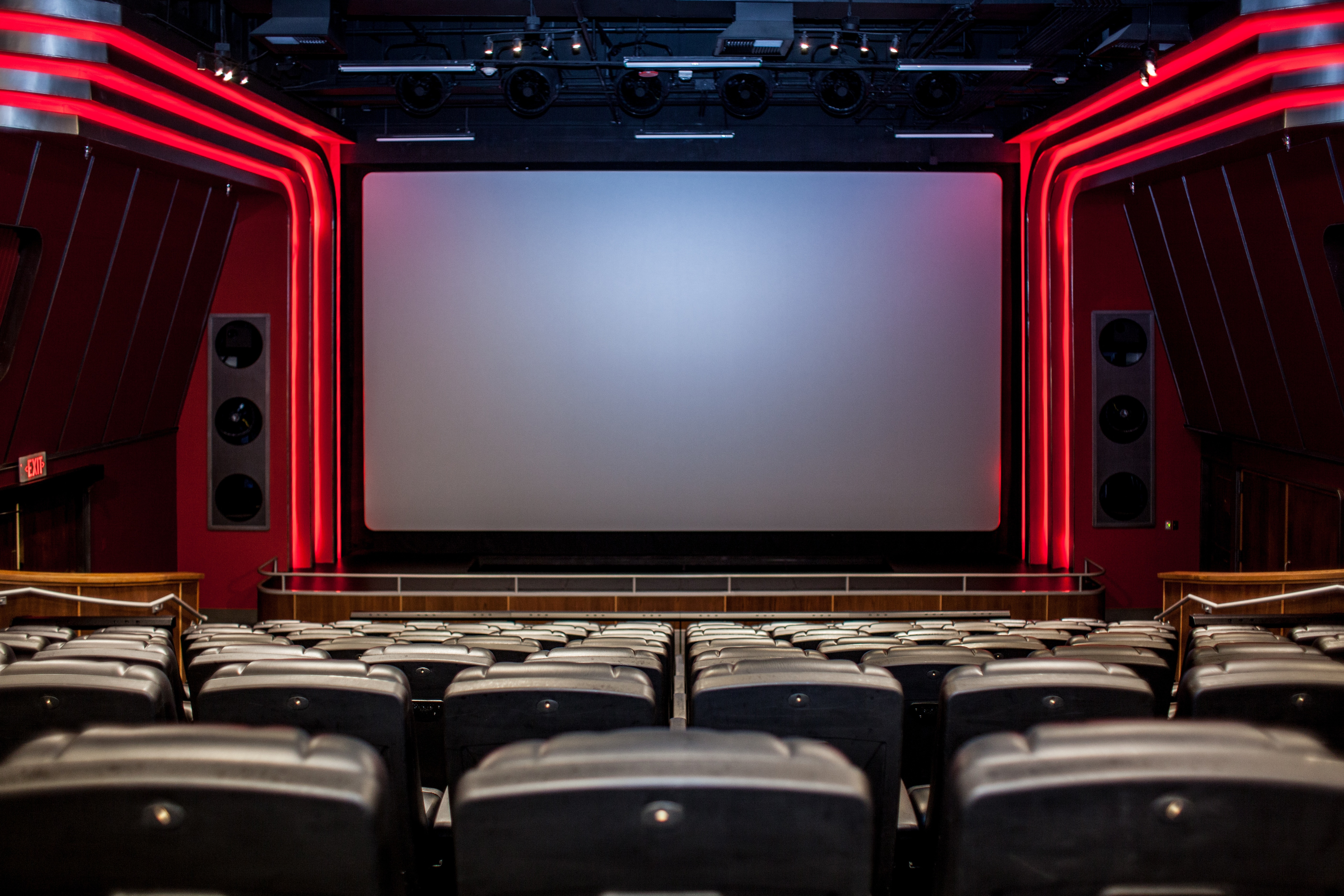 QM 4D Theater - Looking at Screen Straight On